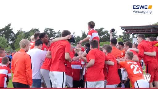 Wiesbaden: U19 Junioren des SVWW steigen in die Bundesliga auf