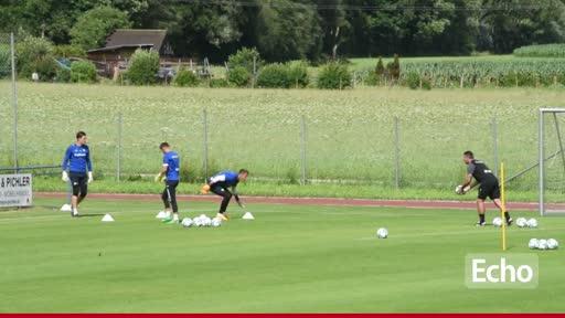 Lilien-Trainingslager mit Markus Steinhöfer