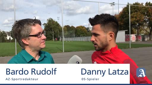 Mainz 05: Interview mit Danny Latza