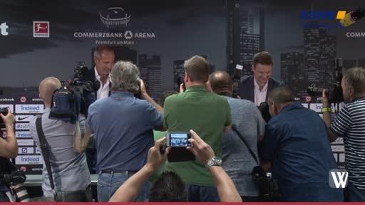 Eintracht: Trainer Hütter vorgestellt
