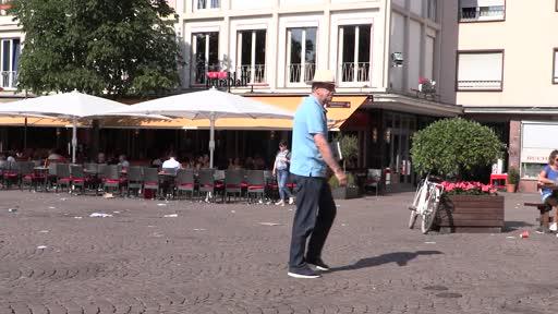 Der Breeweldibbe am Marktplatz in Darmstadt