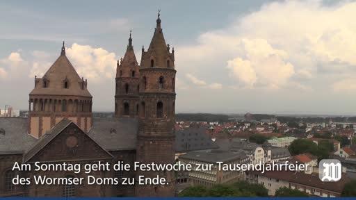 1000 Jahre Wormser Dom: Festakt mit Joachim Gauck