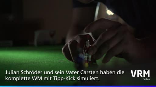 WM-Finale: Der Tipp-Kick-Sieger steht schon fest