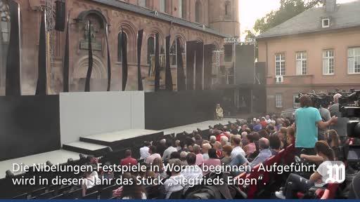 Worms: Die Nibelungen-Festspiele 2018 beginnen