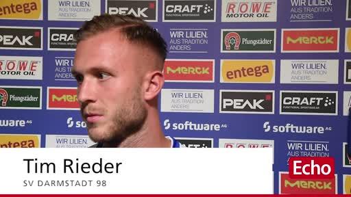Interview mit Tim Rieder vom SV Darmstadt 98