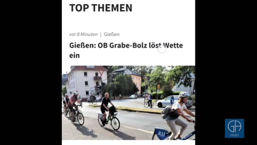Die neue Homepage des Gießener Anzeigers