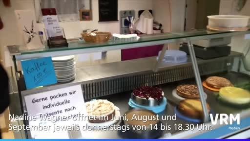Selbstgebackener Kuchen im Weingut Rainer Wagner in Gau-Bischofsheim