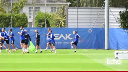 Pressekonferenz vor dem Spiel gegen Heidenheim
