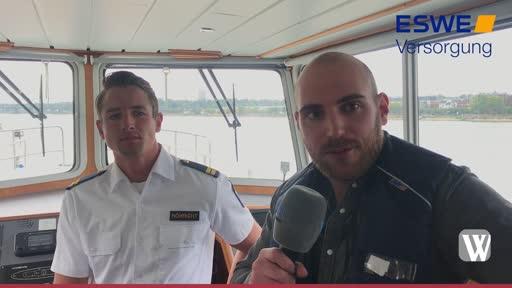Mainz-Kastel: Zu Gast bei der Wasserschutzpolizei