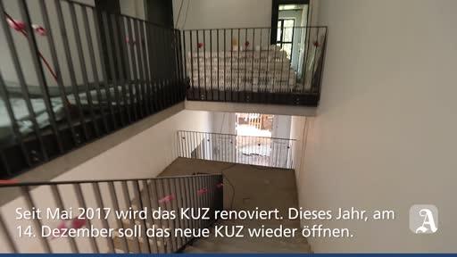 Das Mainzer KUZ macht im Dezember wieder auf
