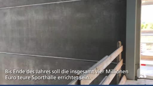 Neue Sporthalle für Bodenheim