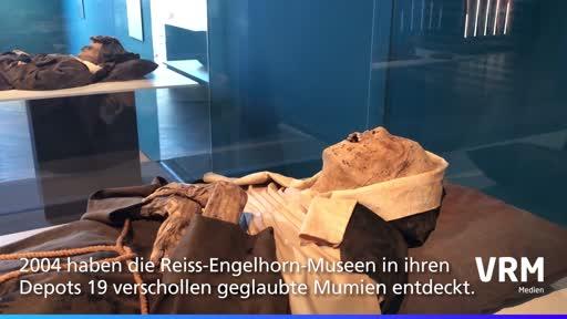 Mumien in Reiss-Engelhorn-Museen in Mannheim