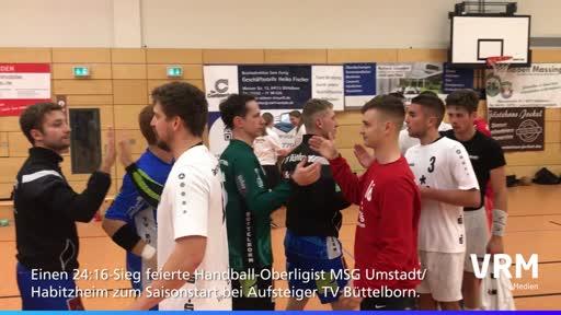 Handball-Oberliga: MSG Umstadt/Habitzheim - TV Büttelborn