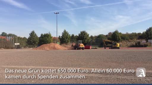 Saulheim: Neuer Kunstrasenplatz