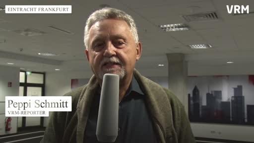Eintracht-Pressekonferenz vor der Partie gegen Lazio Rom