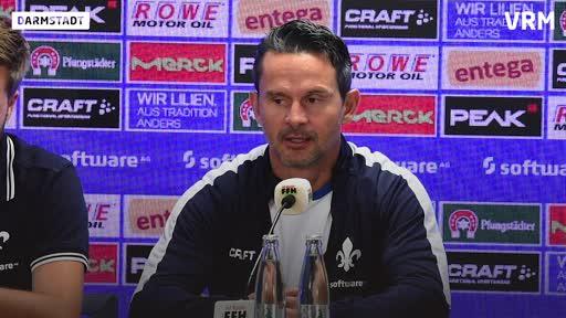 SV Darmstadt 98: Pressekonferenz vor dem Spiel gegen den HSV