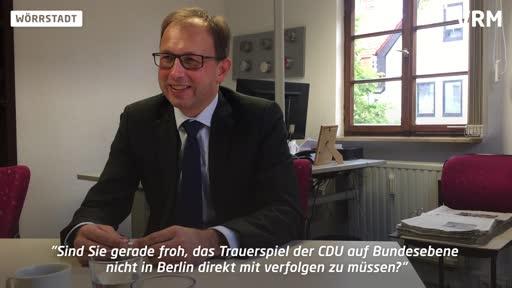 Vor der VG-Bürgermeisterwahl in Wörrstadt: Interview mit Markus Conrad