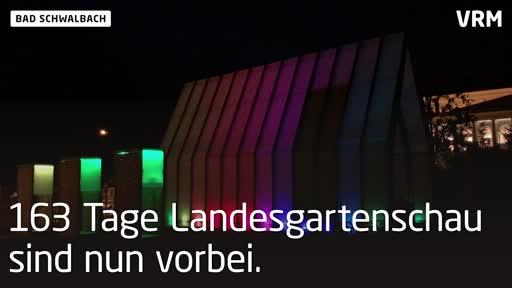 Lichtkirche bei der Landesgartenschau