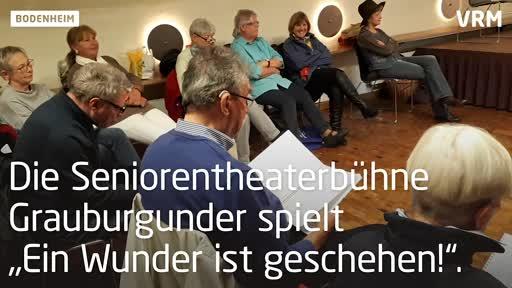 Theater mit Weinprobe in Bodenheim