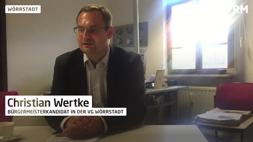 VG Wörrstadt: Interview mit SPD-Kandidat Christian Wertke