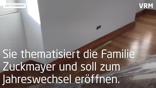 Zuckmayer-Ausstellung im Nackenheimer Ortsmuseum