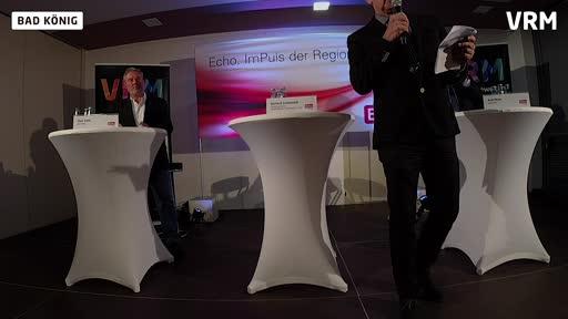 Echo-Podium zur Bürgermeisterwahl in Bad König Teil 1
