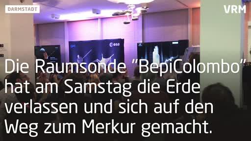 """Start der Raumsonde """"BepiColombo"""""""