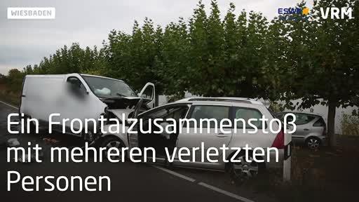 Schwerer Unfall auf der B42