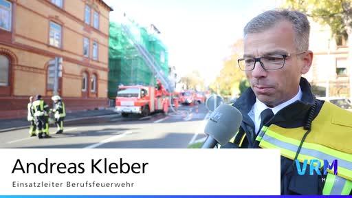 Wiesbaden: Wohnungsbrand in Emser Straße