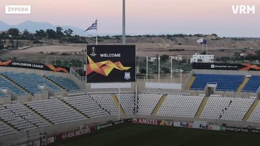 Europa League: Eintracht Frankfurt auf Zypern